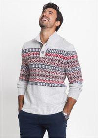 79b5fb5a Klassisk mønster strikket genser mann. Strikket genser herre på nett. Kjøp  strikkegenser